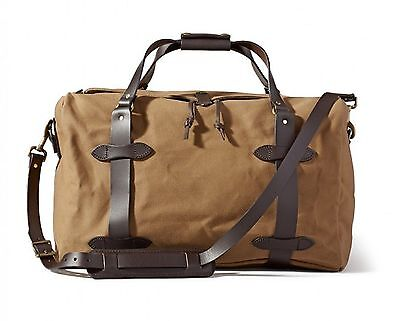 Filson 70325 325 Duffle Medium Carry-On Field Bag - Tan Brand New Free Ship