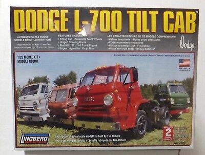 Dodge L-700 Tilt Cab Truck New In Box Lindberg 1/25 Scale