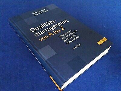 Qualitätsmanagement von A bis Z von Jörg-Peter Brauer und Gerd F. Kamiske... gebraucht kaufen  Berlin