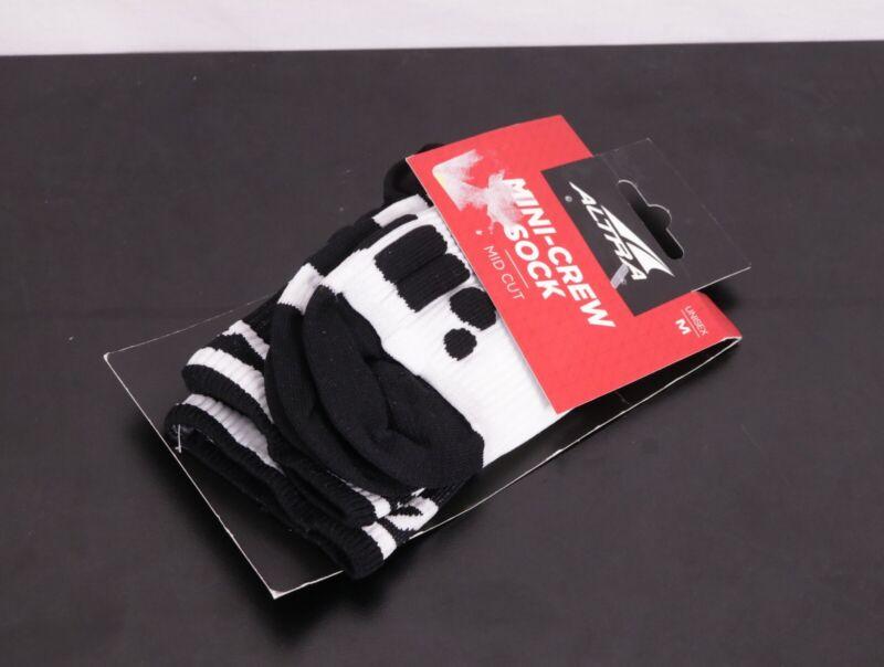 ALTRA Running Socks -White/Black-Unisex