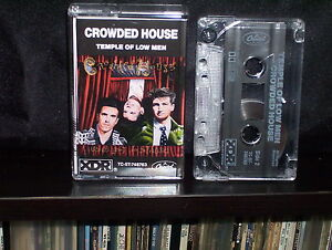 CROWDED-HOUSE-TEMPLE-OF-LOW-MEN-CASSETTE-TAPE