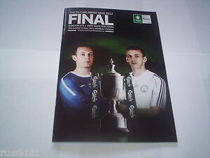 FA VASE FINAL 2012 DUNSTON V WEST AUCKLAND @ WEMBLEY MINT