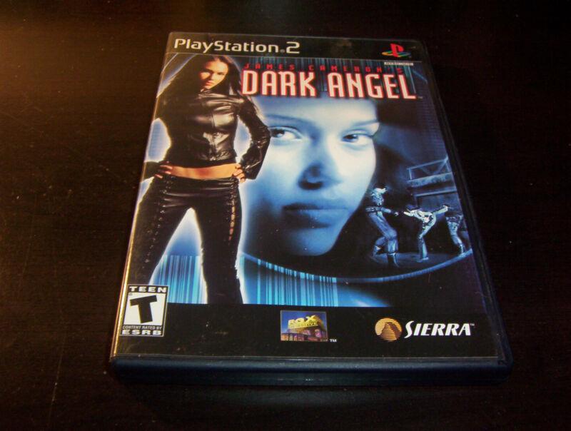 JAMES CAMERON'S DARK ANGEL VAMPIRE APOCALYPSE JESSICA ALBA PLAYSTATION 2 PS2
