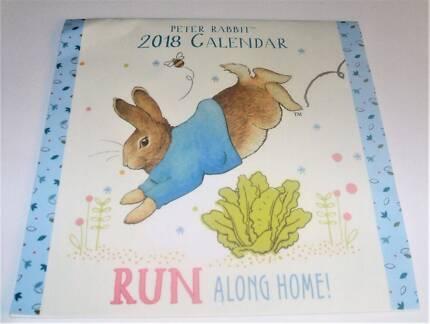 New Beatrix Potter Peter Rabbit 2018 calender