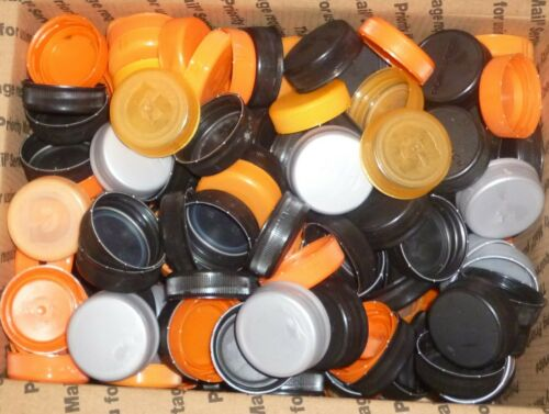 270 MIXED GATORADE COLOR PLASTIC CAPS .