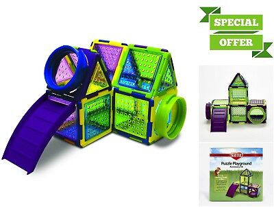 Hamster Puzzle Playground Toy House Small Animals Exercise Mice Gym Playhouse
