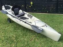 Hobie Revolution 11ft Paddle Peddle Kayak Glendale Lake Macquarie Area Preview