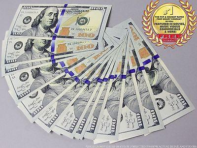 THE BEST PROP MONEY NEW STYLE $100s - $2,600 - 26 Prop Bills by PROP MOVIE MONEY