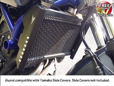 Yamaha MT-07 Radiator Guard FZ-07 Rad Cover 2014 2015 2016 2017 2018    .