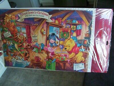 Winnie the Pooh Countdown to Christmas Hallmark Advent Calendar New fun for kids