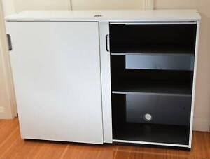 Ikea Cabinet Credenza : Ikea galant office cabinet credenza with sliding doors