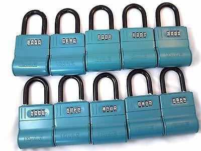 10 New Shurlok Key Storage Locks-- Lock Box Real Estate Realtor Lockbox