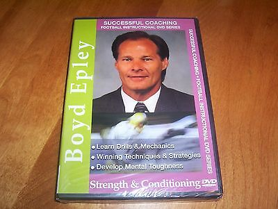 SUCCESSFUL COACHING FOOTBALL INSTRUCTIONAL SERIES Strength Conditioning DVD NEW