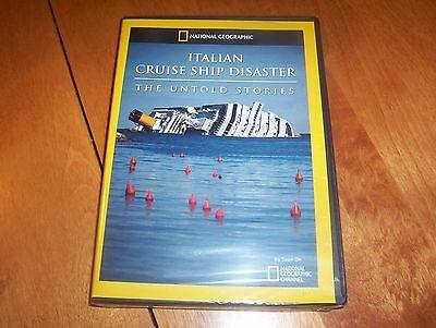 ITALIAN CRUISE SHIP DISASTER THE UNTOLD STORIES National Geographic DVD (Italian Cruise Ship Disaster The Untold Stories)