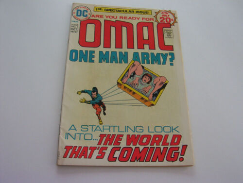 OMAC ONE MAN ARMY COMIC  #1  OCTOBER 1974    VERY FINE-   BARGAIN CAVE PRICE