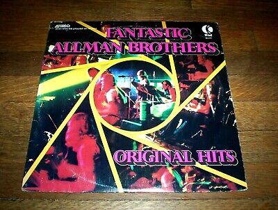 THE ALLMAN BROTHERS - 1974 rare K-TEL vinyl LP ( FANTASTIC / ORIGINAL HITS ) VG+ comprar usado  Enviando para Brazil