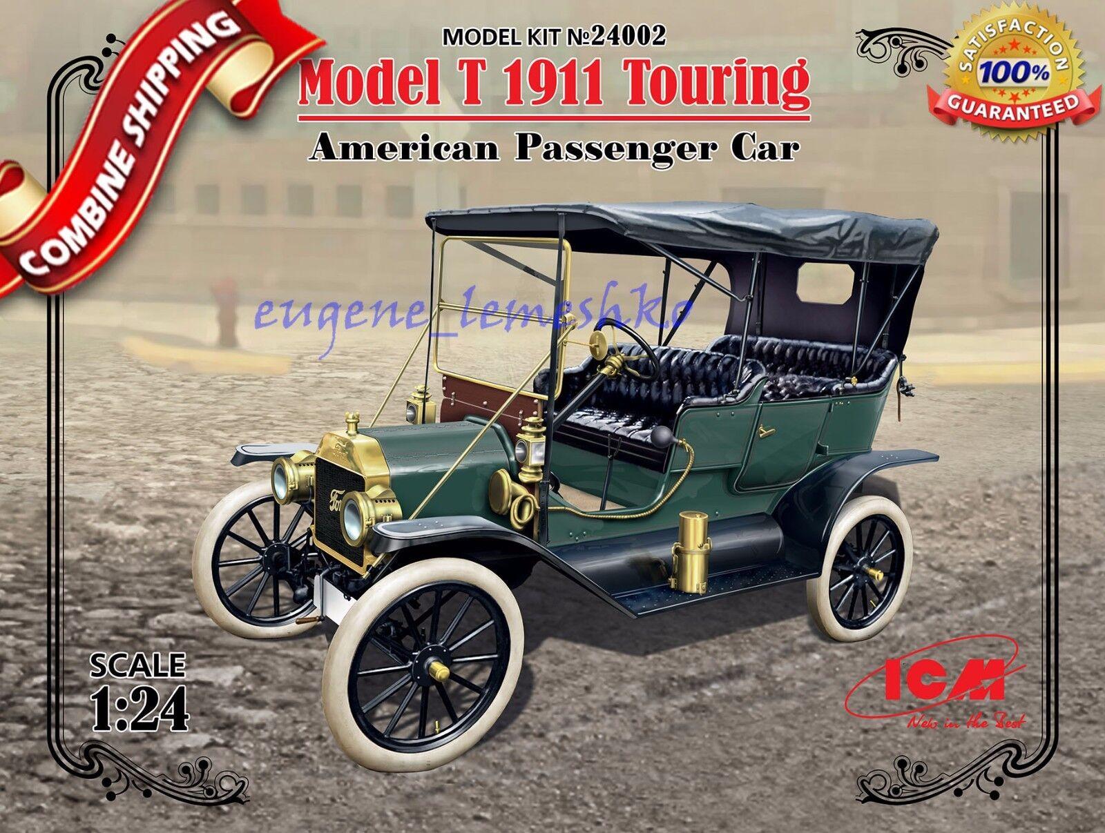 "ICM 24002 "" Model T 1911 Touring American Passenger Car "" Pl"
