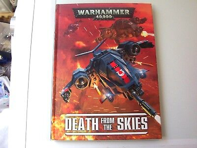 Warhammer 40k Death from the Skies rulebook [hardback].