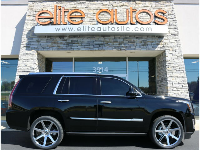 "Cadillac: Escalade 4DR 4WD CADILLAC ESCALADE 4WD PLATINUM Loaded POWER RETRACTABLE STEPS Tint 24"" WHEELS"