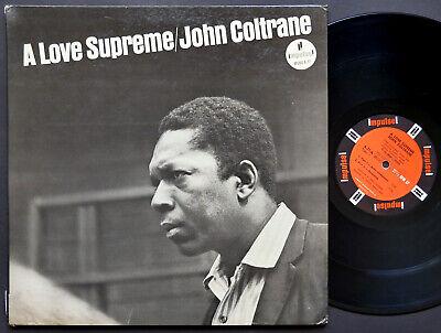 JOHN COLTRANE A Love Supreme LP IMPULSE! A-77 RVG MONO McCoy Tyner Elvin Jones