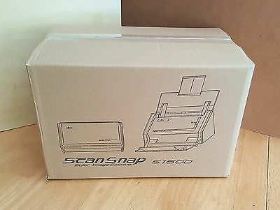 (over 325 sold)Full Package Fujitsu ScanSnap S1500  Scanner w/ AC Adapter+USB+CD