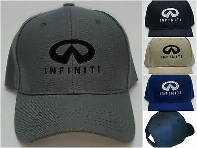Infiniti Embroidered Baseball Hat Cap Adjustable Strap Q60 Qx30 Qx80 Infiniti