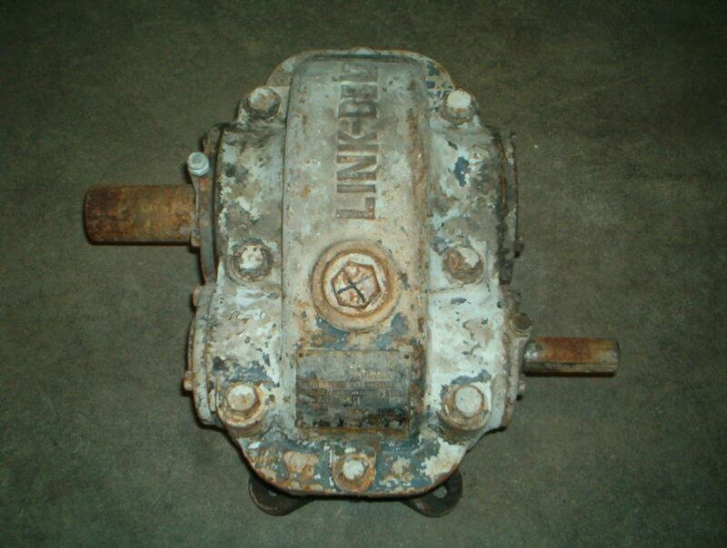 Link Belt parallel shaft gear / speed reducer S5-RH 11.9 hp, 4.93 Ratio, 180 lbs