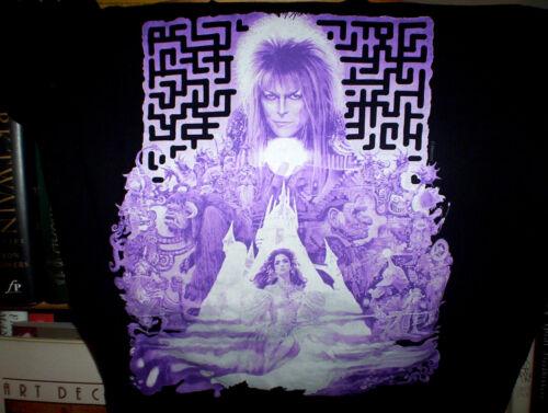 DAVID BOWIE Labyrinth T-Shirt excellent condition MEDIUM jim henson MUPPETS VG++