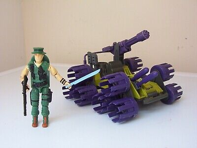 vintage Action Force/G.I.JOE SWAMPMASHER vehicle & MUSKRAT [complete] figure