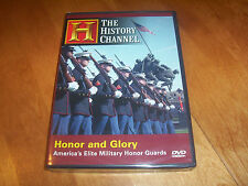 HONOR AND GLORY US Elite Military Honor Guard Army USMC History Channel DVD NEW