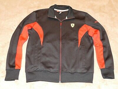 Puma Ferrari Scuderia Men's Small Full Zip Lightweight Jacket / Sweatshirt