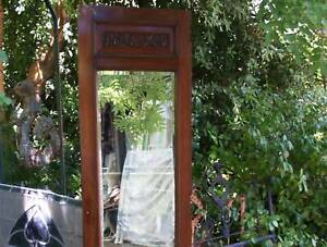 Cheval length X robe Mirror , other vintage  and antique items
