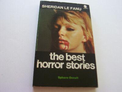 THE BEST HORROR STORIES   1970   SHERIDAN LEFANU    4 CREEPY SHORT