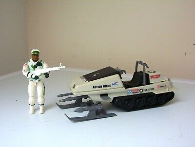 vintage Action Force/G.I.JOE POLAR BEAR vehicle & ICEBERG [complete] figure