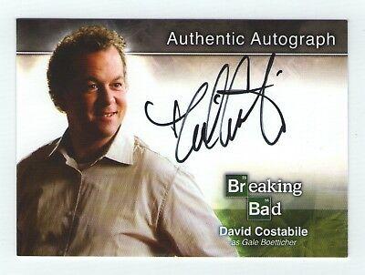 Breaking Bad seasons 1-5 autograph card A5 David Costabile - Gale Boetticher