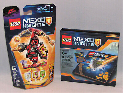 LEGO Nexo Knights - Ultimate Beast Master 70334 & Power Shield Collector Case