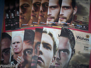WOLVES-HOME-PROGRAMMES-2011-12