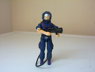 vintage Action Force/G.I.JOE COBRA TELE-VIPER figure complete.