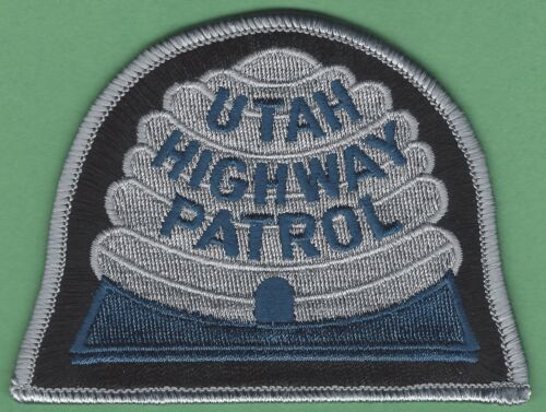 UTAH HIGHWAY PATROL POLICE SHOULDER PATCH TACTICAL GRAY