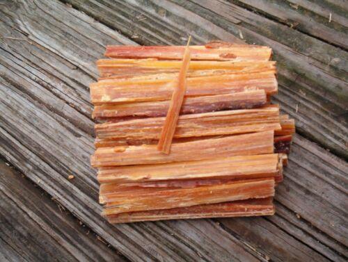 Fat Lighter Fatwood Kindling Fire Starter Wood Tinder Sticks *8 Ounces* 2 FOR 4