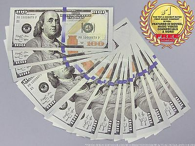 THE BEST PROP MONEY NEW STYLE $100 $10,000 Full Print Stack for Movie, TV, Video