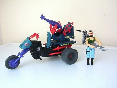 vintage Action Force/G.I.JOE DREADNOK TRIKE vehicle & RIPPER [complete] figure