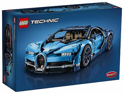 LEGO Bugatti Chiron Technic Sports Car Racing Vintage Building Blocks Brick Toy