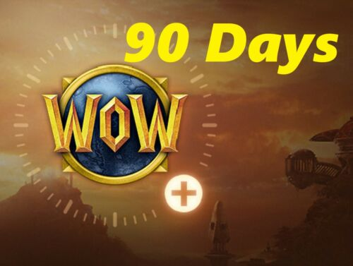 90 Days WOW Game Time Prepaid card -  World Of Warcraft - US/Americas servers