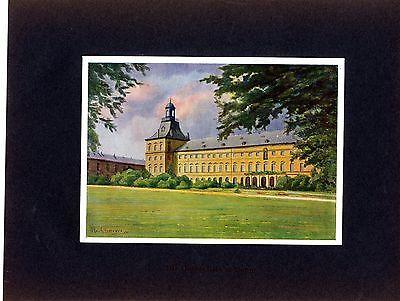 Die Universität in Bonn Künstler Fr. Kuhlmeyer München Histor. Kunstdruck 1910