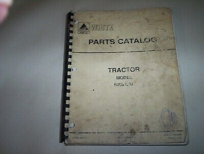 Agco White Model 6065 Cab Tractor Parts Catalog Forum 79014894 Feb 1992 Usa
