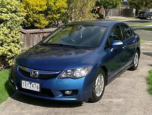 2008 Honda Civic Hybrid 8th gen Sedan, low kms - CAR MUST GO Wantirna South Knox Area Preview