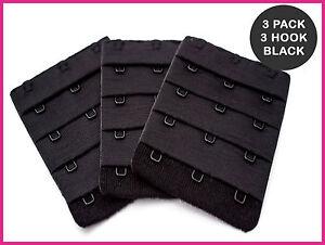 bh verl ngerung 3 haken 55mm 3 x schwarz ebay. Black Bedroom Furniture Sets. Home Design Ideas