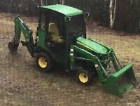 John Deere Tractor To RENT!!!   Great Machine!!!