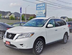 2013 Nissan Pathfinder S 7 PASS | EXTRA CLEAN | ALLOYS | 4WD...